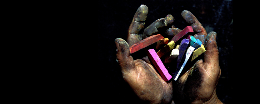 artrist handchalk
